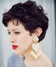 Cutest Short Curly Hairstyles 2016 for Prom