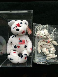 Rare ty original   mcdonalds  beanie babies  glory  bears error 1997 1998  tag 309798a0d6f2
