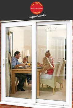 Stunning Patio Doors by Academy Home Improvements.  http://www.academyhome.co.uk/products/doors/patio-doors#Content