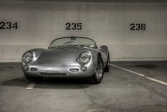 """""""Eva"""" Porsche 550 Spyder Replica - 1967"""