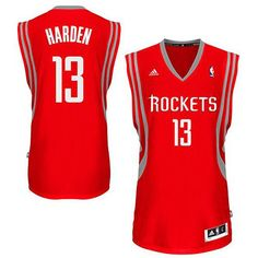 fc1b6507d James Harden  13 Houston Rockets Road Red Swingman Jersey - 16.88 James  Harden Rockets