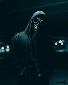 Urban gas mask art  |  by: The masked ones #Gaskmask #Mask #Art #Gasmasklovers #MaskArt #Smoke #Themaskedones #bk4rm