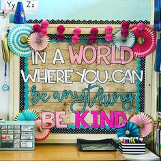 "1,052 Likes, 33 Comments - Michelle Griffo (@applesandabcs) on Instagram: ""Kindness bulletin board roll call!!! I love how different color options completely change how each…"""