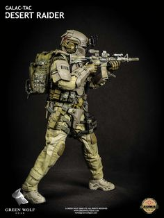 Green Wolf Gear Galac-Tac Desert Raider - 007
