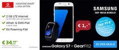 2GB LTE Vodafone Smart L für 34,99€ mit Galaxy S7 für 1€ http://www.simdealz.de/vodafone/smart-l-2gb-giga-travel-promo/
