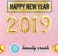 """Your Beauty Crush"" Beauty Crush, Happy New Year 2019, Crushes, Neon Signs, Cosmetics"