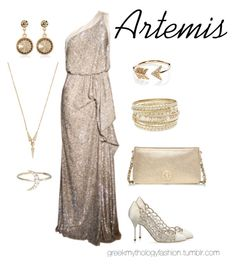 """""""Artemis"""" by little-miss-blue ❤ liked on Polyvore featuring Sergio Rossi, EF Collection, Eva Fehren, White House Black Market, Lipsy, Tory Burch, Zoe & Morgan and greekmythologyfashion"""