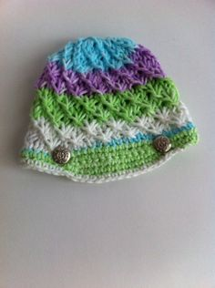new born baby hat / new born baby girl hat  by LoreNovedades, $20.50