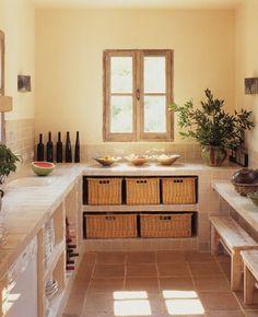 Le plan de travail cuisine en verre ou en céramique - Marie Claire Maison