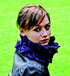 Ravelry: Project Gallery for 3D neckpiece pattern by Sidsel Sangild