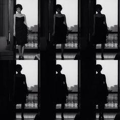 Monica Vitti en La notte (Antonioni, 1961)