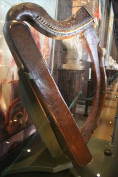 The Harp of Brian Boru - Trinity College - Dublin, Ireland
