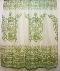 Hawaii Theme 100% Polyester Fabric Shower Curtain Hawaii ... Http://