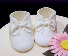 How to Make Baby Booties | SugaredProductions