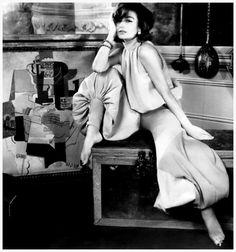 Anouk Aimee. Photo by Henry Clarke, 1965