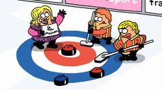 Les Jeux en patates : le curling - JO Sotchi 2014