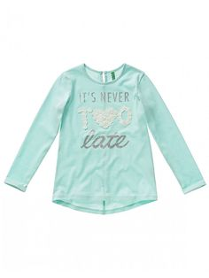 United Colors of Benetton Baby-M/ädchen T-Shirt Long Sleeve