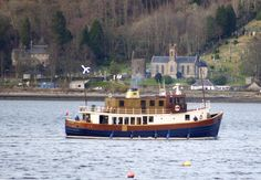 Majestic Line Leave for the start of the 2015 Season from the Holy Loch