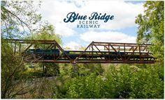Blue Ridge Scenic Railway - A vintage train that travels from Blue Ridge, GA to McCaysville, GA and Copperhill, TN