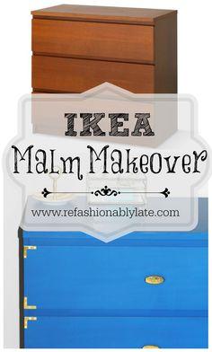 Ikea Malm Makeover -