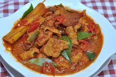 Assam Curry pork