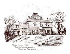 """ISAAC DRAKE -   1st COUSIN - Isaac Drake built """"Drake House"""" in Plainfield, NJ in 1746. It was for his son Nathanial. Isaac, his freed slave Caesar and three sons built the house. It is still standing, although radically remodeled in the 1800s. Today it is """"Drake House Museum""""."""