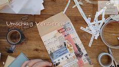 Umschlag Verzierung Handmade Greetings, Quilling Art, Handmade Shop, Paper Art, Envelope, Workshop, Journal, Etsy, Instagram