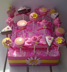 Tea Party cake pops