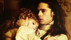 Louis de Pointe du Lac and Claudia from the movie, Interview with the Vampire (1995) - vampires - played by Brad Pitt and Kirsten Dunst