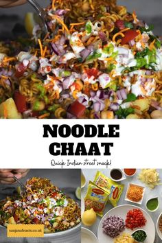 Asian Recipes, Mexican Food Recipes, Maggi Masala, Maggi Recipes, Tasty Vegetarian Recipes, Cooking Recipes, Snacks Recipes, Chaat, Savory Snacks