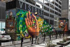 take it outside: public art transforms the urban canvas