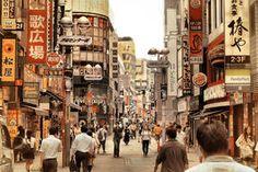 Tokyo City Life by Pajunen on DeviantArt Shibuya Tokyo, Tokyo City, Tokyo Japan, Urban Photography, Street Photography, Romantic Scenes, Tokyo Travel, City Buildings, City Streets