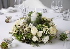 Image from http://www.diy-enthusiasts.com/wp-content/uploads/2013/09/christmas-wreath-centerpiece-fresh-flowers-white.jpg.