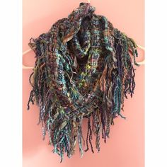 Handmade Scarf Super fun and funky handmade triangle scarf. Accessories Scarves & Wraps