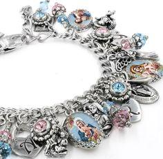 Charm Bracelet, Faith Jewelry, Catholic Jewelry, Christian Bracelet, Cross Bracelet, Madonna Bracelet, Virgin Mary Bracelet - Blackberry Designs Jewelry