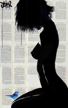"""Saatchi Art Artist LOUI JOVER; Drawing, """"zambezi"""" #art"""