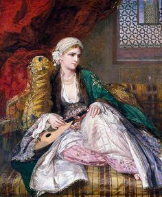 Nicholls, Charles Wynne (1831-1903) - Eastern Beauty, 1865