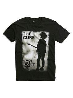 The Cure Boys Don't Cry T-Shirt, BLACK