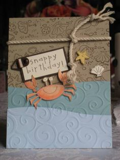 SC17 Crab & Company by mommacharles - Cards and Paper Crafts at Splitcoaststampers