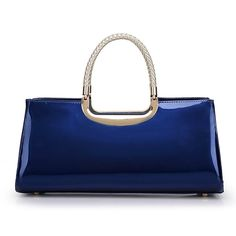 32.40$  Buy here - http://ali558.shopchina.info/go.php?t=32716189375 - 2016 New Patent Leather Tote Bags Handbags Women Famous Brands Totes Ladies HandBags Luxury Handbags Women Bags Designer T437  #buyininternet