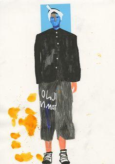 Yohji Yamamoto by John Booth