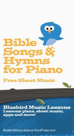 Bible Songs & Hymns for Piano | Free Easy Piano Sheet Music