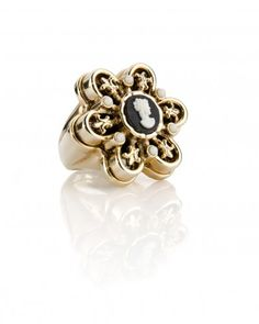 The Bambina Cameo Ring by Jewelmint.com $29.99