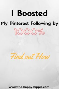 How I Boosted My Pinterest Following by 1000% | Blogging Tips and Tricks | Pinterest usage | Tailwind