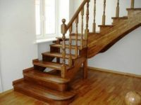 Interior wooden stairs, made of solid oak or beech wood. Solid wood interior stairs made to order according to the requested size and model. Glass Stairs, Floating Stairs, Wooden Stairs, Disney Coffee Mugs, Disney Kitchen, Spiral Staircase, Staircases, Interior Stairs, Interior Decorating