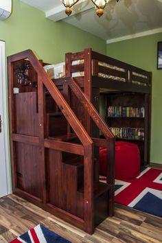 Bunk Beds, Loft, Furniture, Home Decor, Decoration Home, Double Bunk Beds, Room Decor, Lofts, Home Furnishings