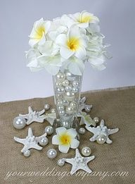 seaside centerpieces weddings - Google Search