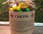 Chill Pill BOYFRIEND/GIRLFRIEND Apothecary Jar 24 oz