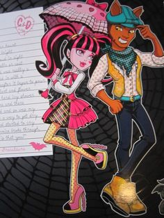 monster high clawd wolf pictures | monster high: Imagenes de Clawd Wolf y Draculaura