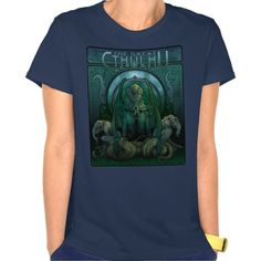 The Great Cthulhu (art nouveau) T-shirt